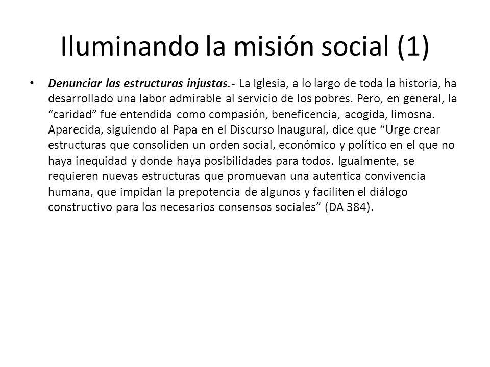 Iluminando la misión social (1)