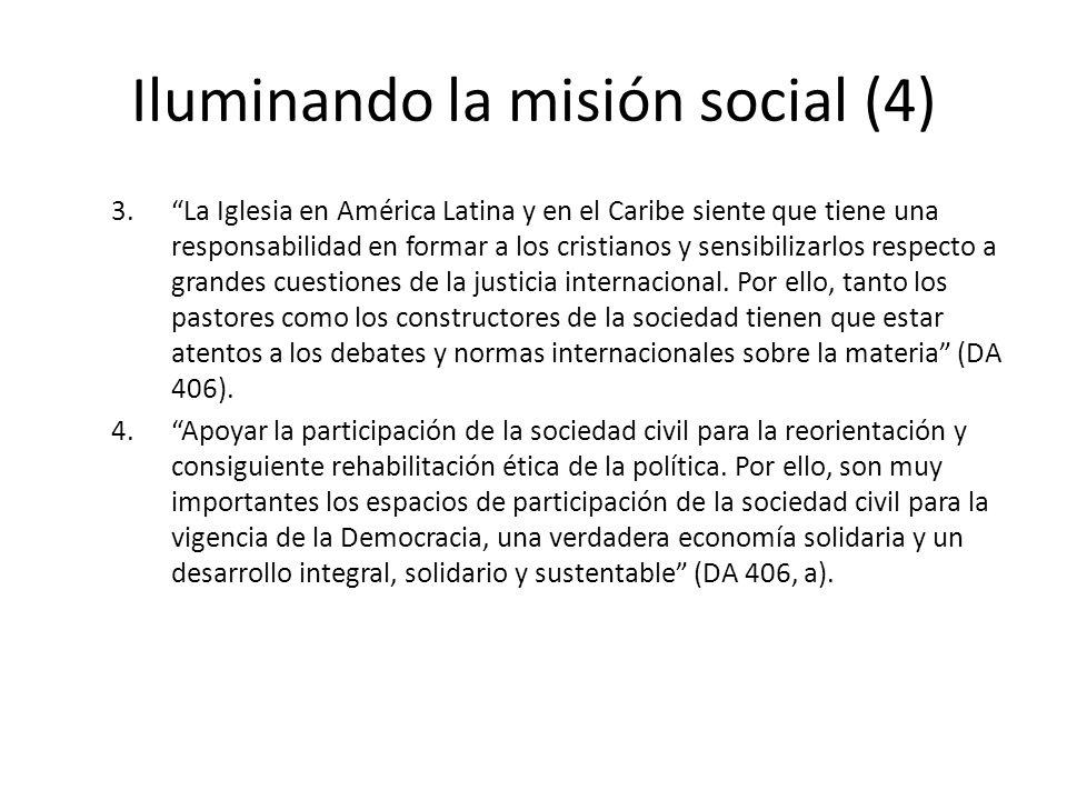 Iluminando la misión social (4)