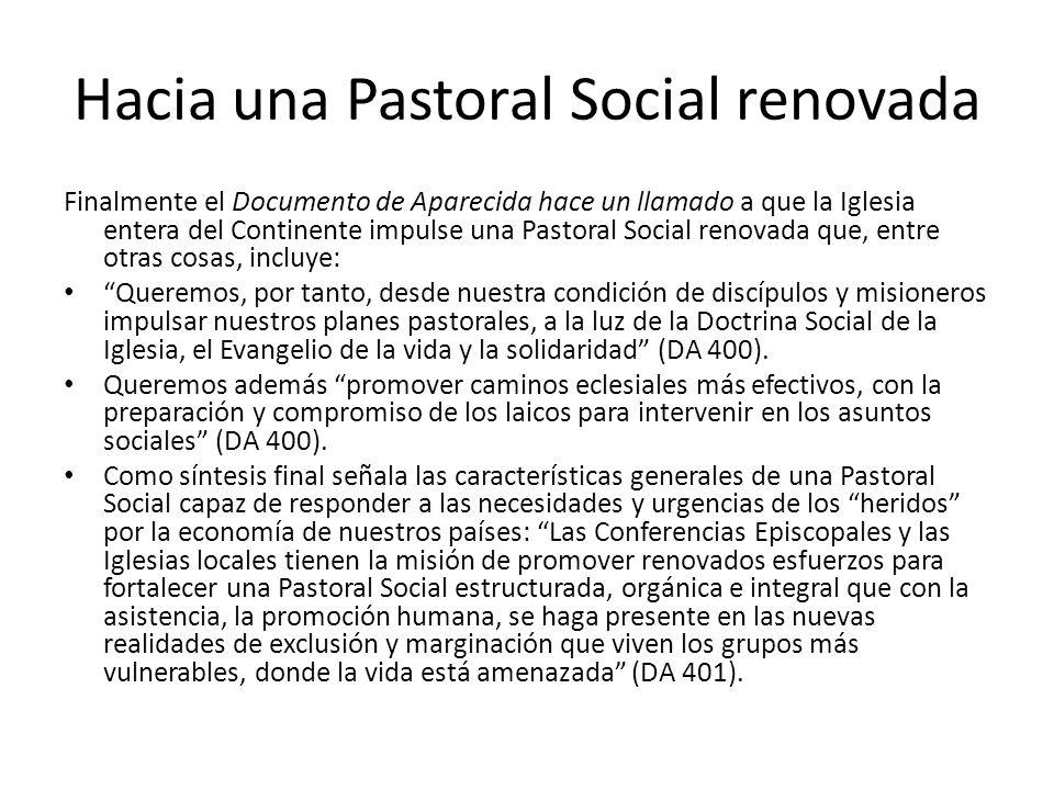 Hacia una Pastoral Social renovada