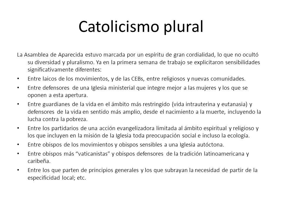 Catolicismo plural