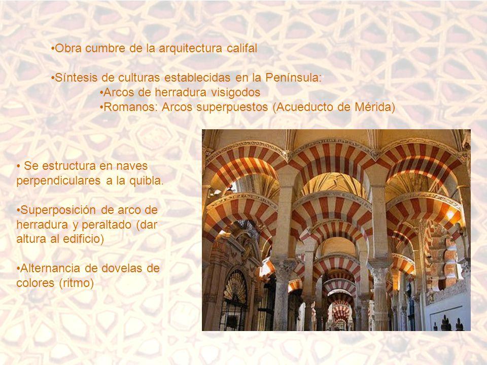 Obra cumbre de la arquitectura califal