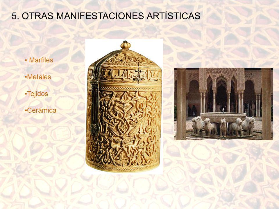 5. OTRAS MANIFESTACIONES ARTÍSTICAS