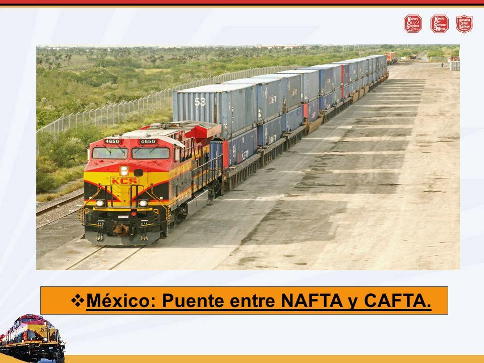 México: Puente entre NAFTA y CAFTA.