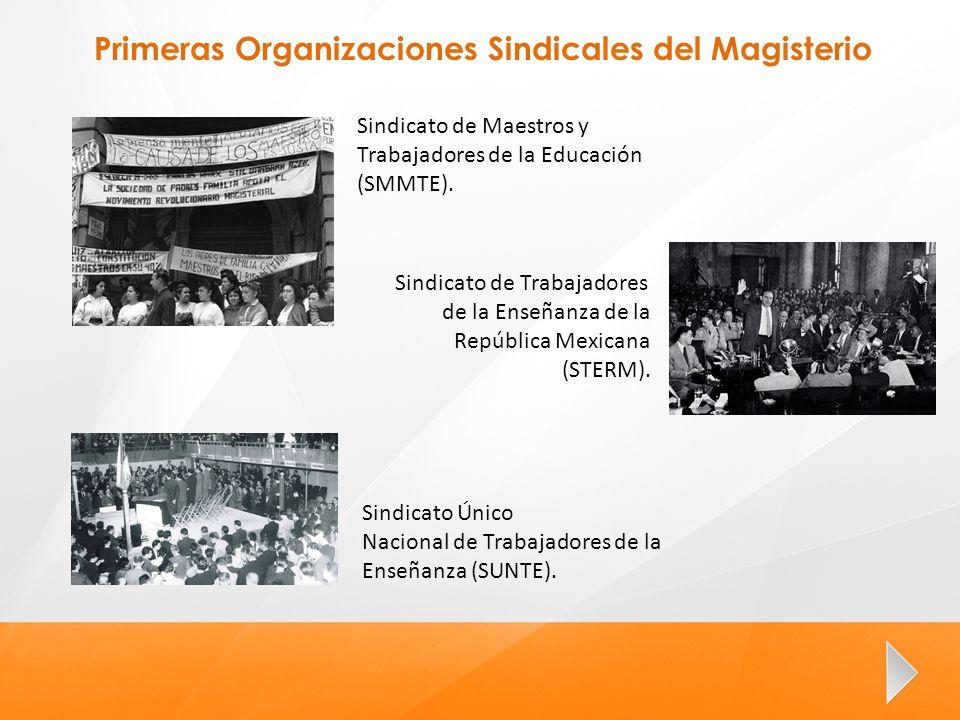 Primeras Organizaciones Sindicales del Magisterio