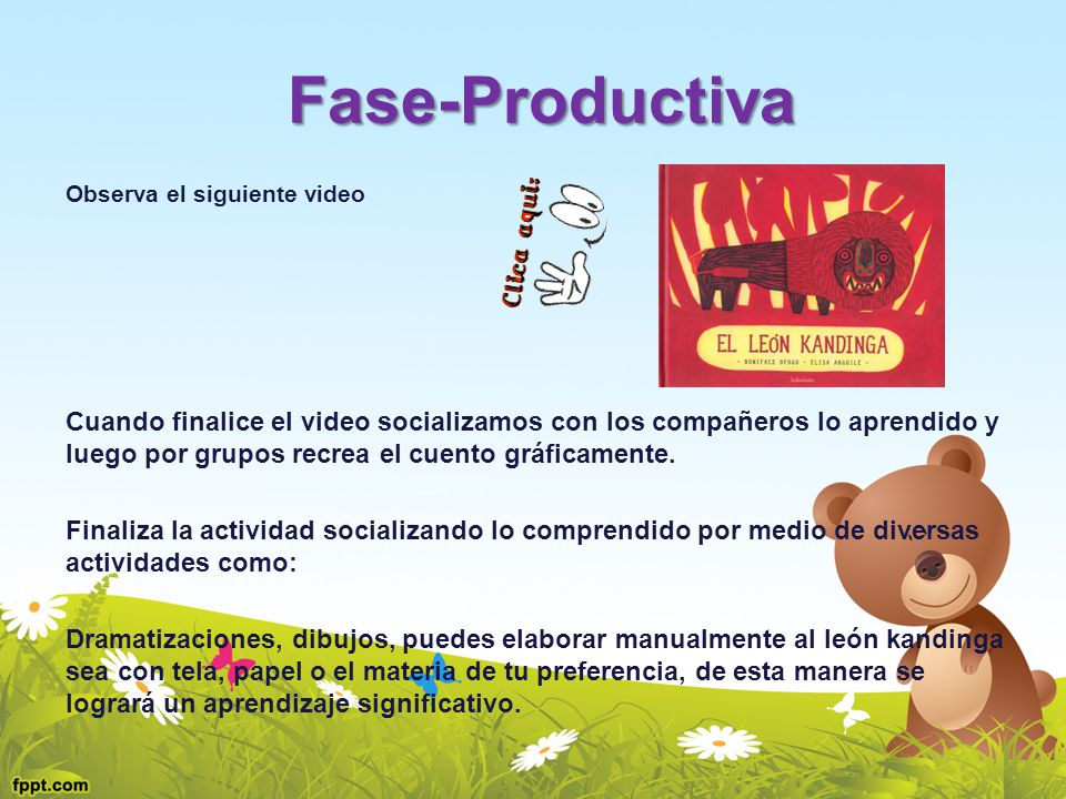 Fase-Productiva Observa el siguiente video.