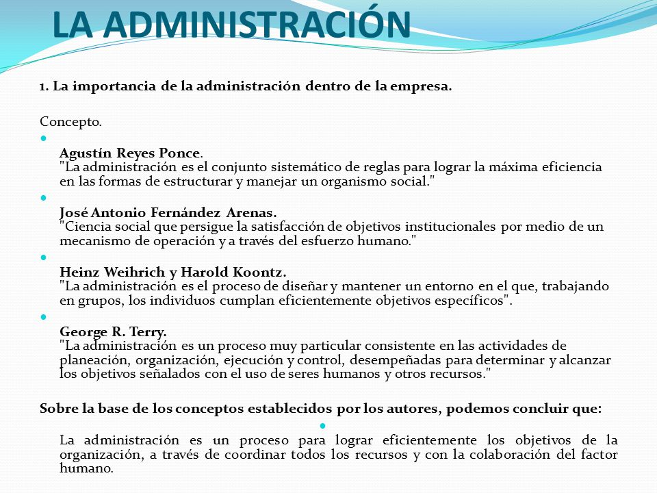 Administraci n de empresas ppt video online descargar for Concepto de oficina y su importancia