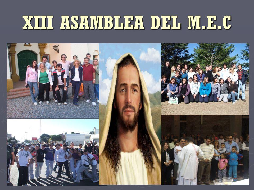 XIII ASAMBLEA DEL M.E.C
