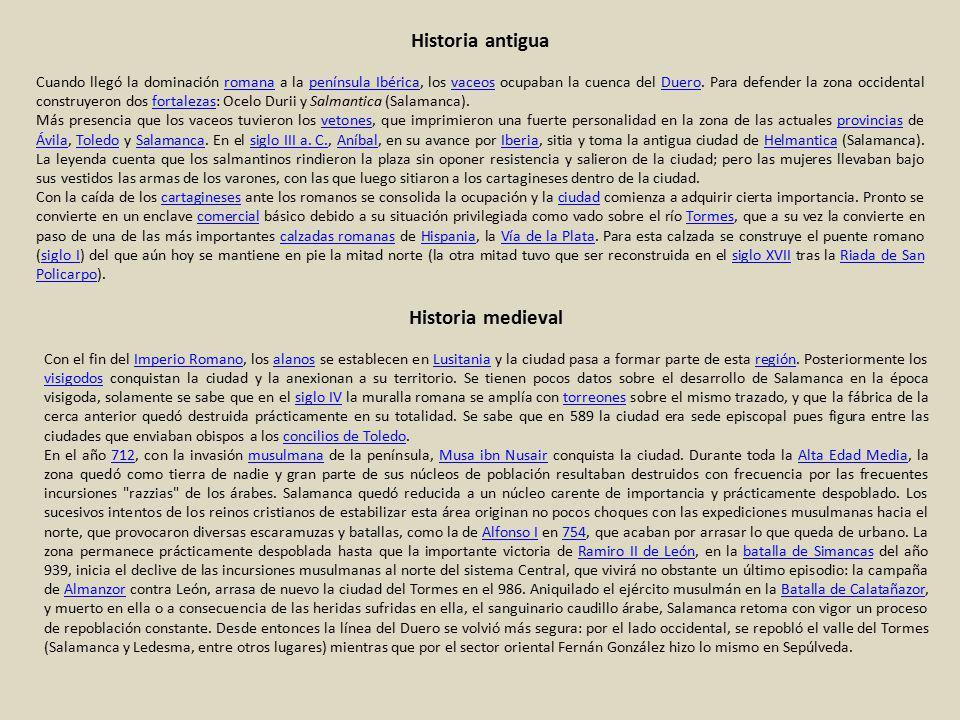 Historia antigua Historia medieval