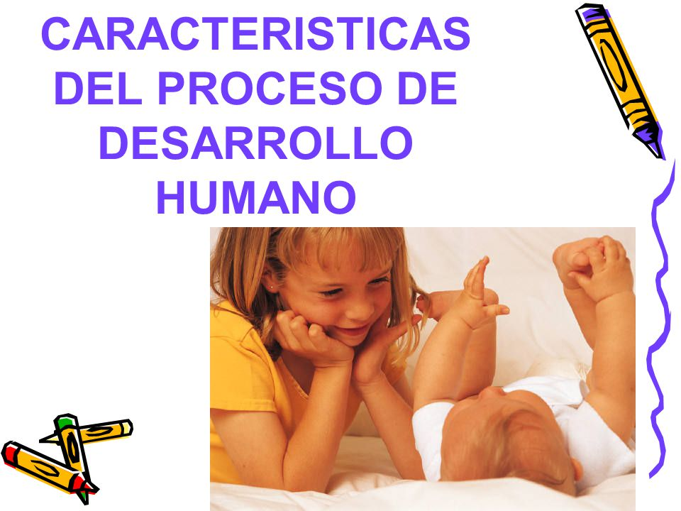 CARACTERISTICAS DEL PROCESO DE DESARROLLO HUMANO
