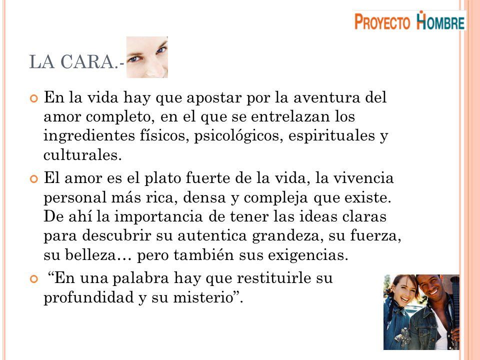 LA CARA.-