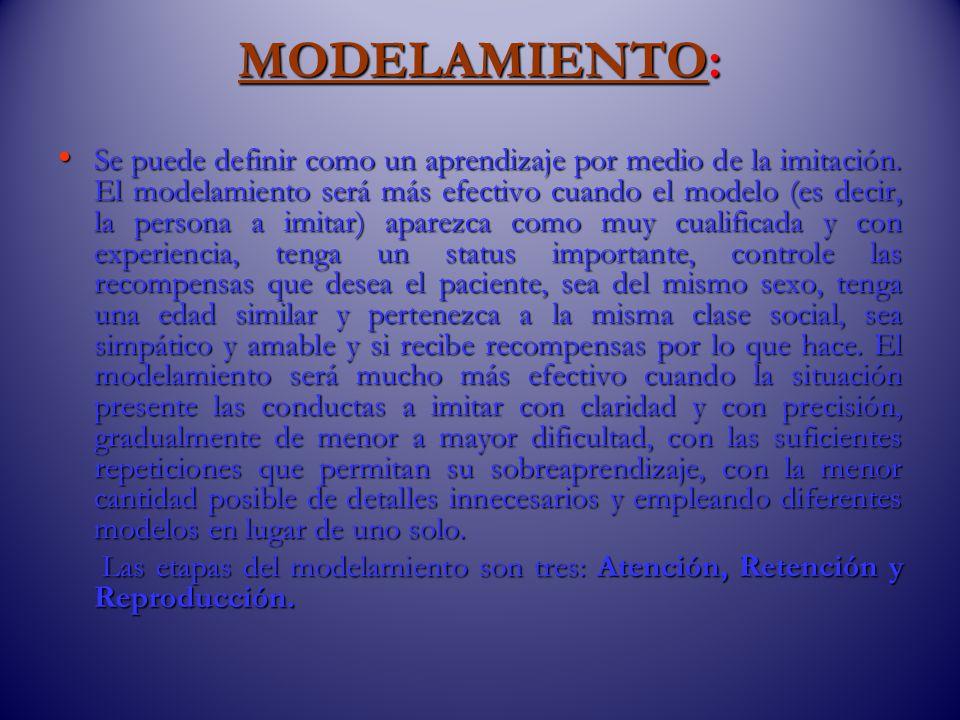 MODELAMIENTO: