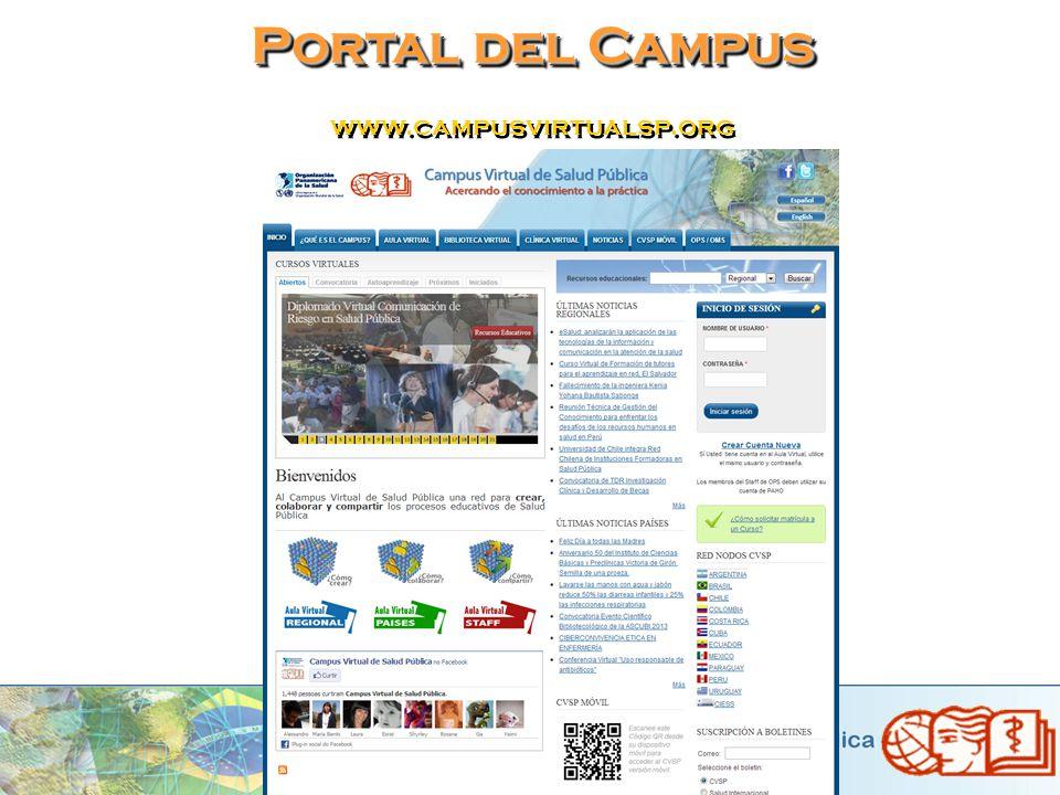 Portal del Campus www.campusvirtualsp.org