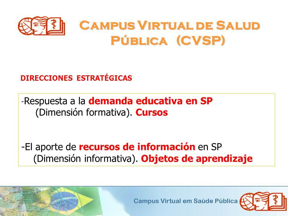 Campus Virtual de Salud Pública (CVSP)