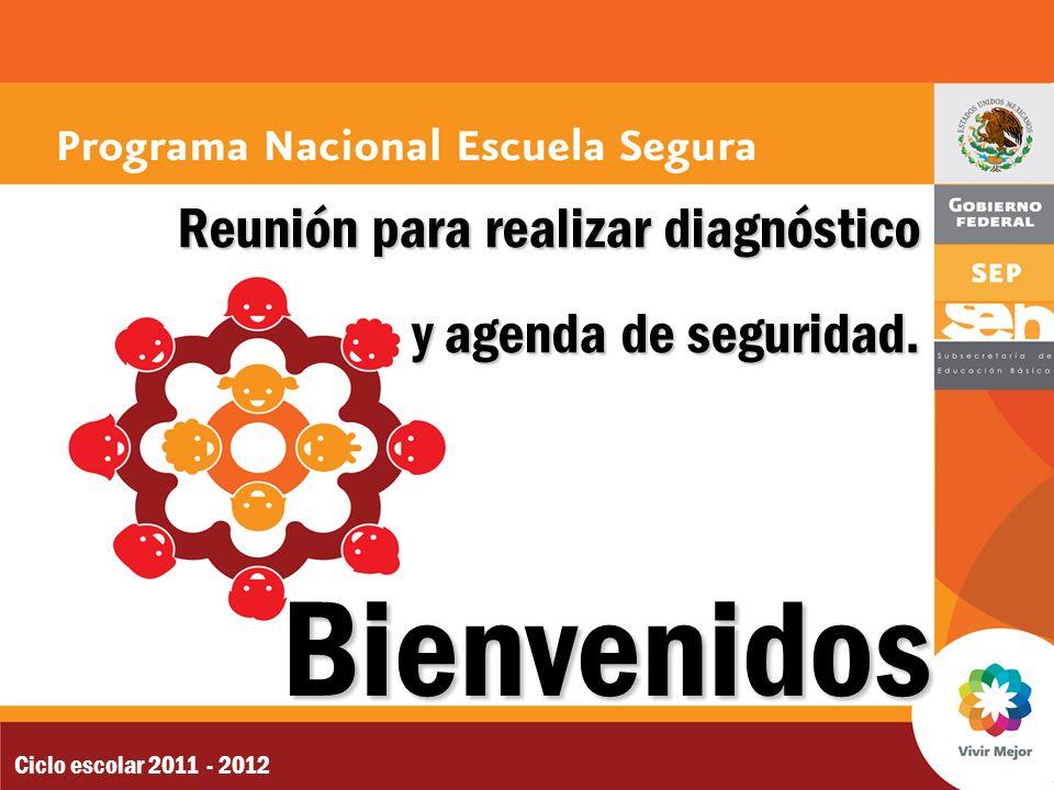 Bienvenidos Reunión para realizar diagnóstico y agenda de seguridad.
