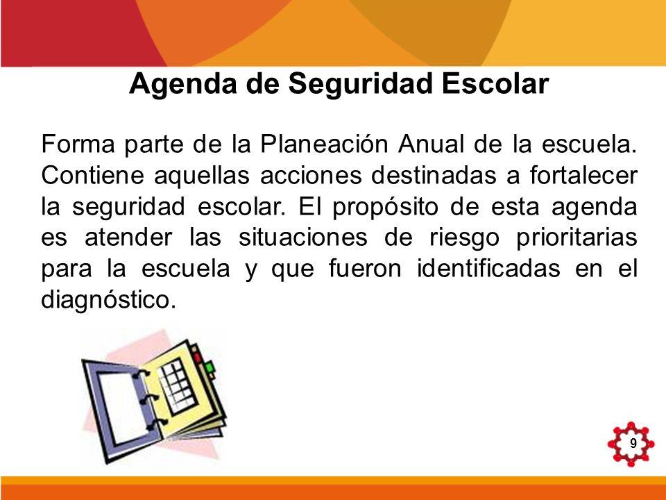 Agenda de Seguridad Escolar