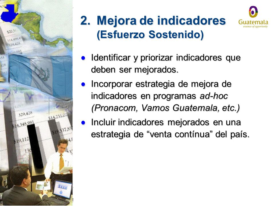 2. Mejora de indicadores (Esfuerzo Sostenido)