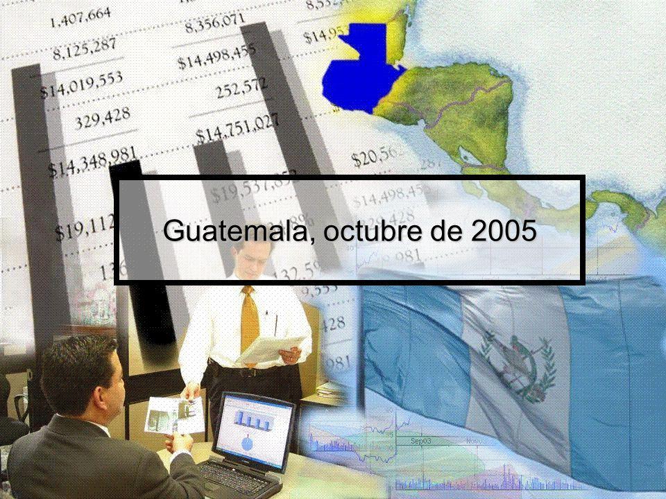 Guatemala, octubre de 2005