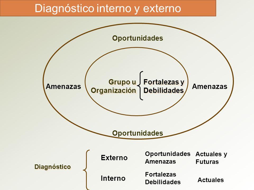 Diagnóstico interno y externo
