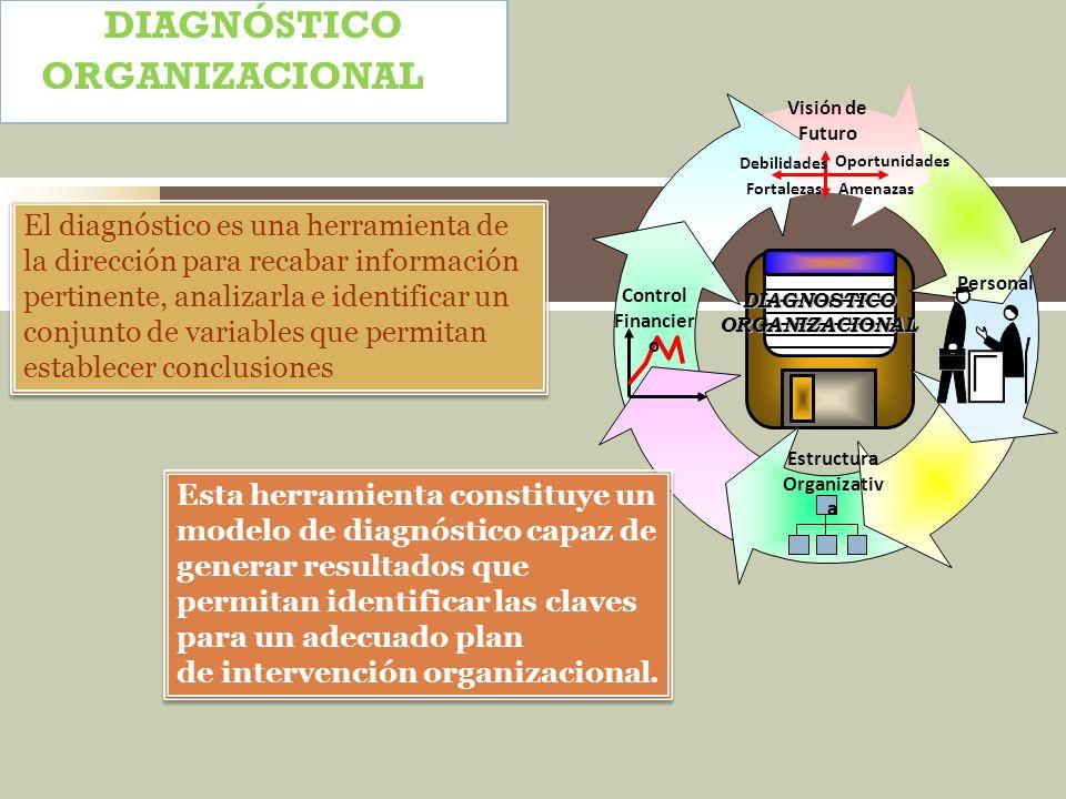 DIAGNOSTICO ORGANIZACIONAL Estructura Organizativa