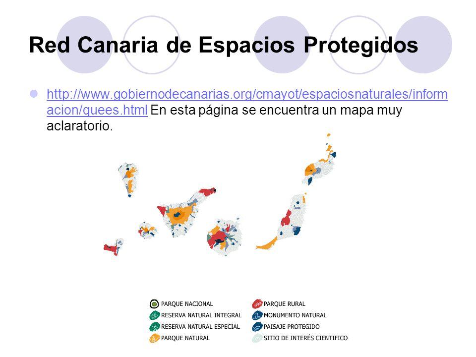 Red Canaria de Espacios Protegidos