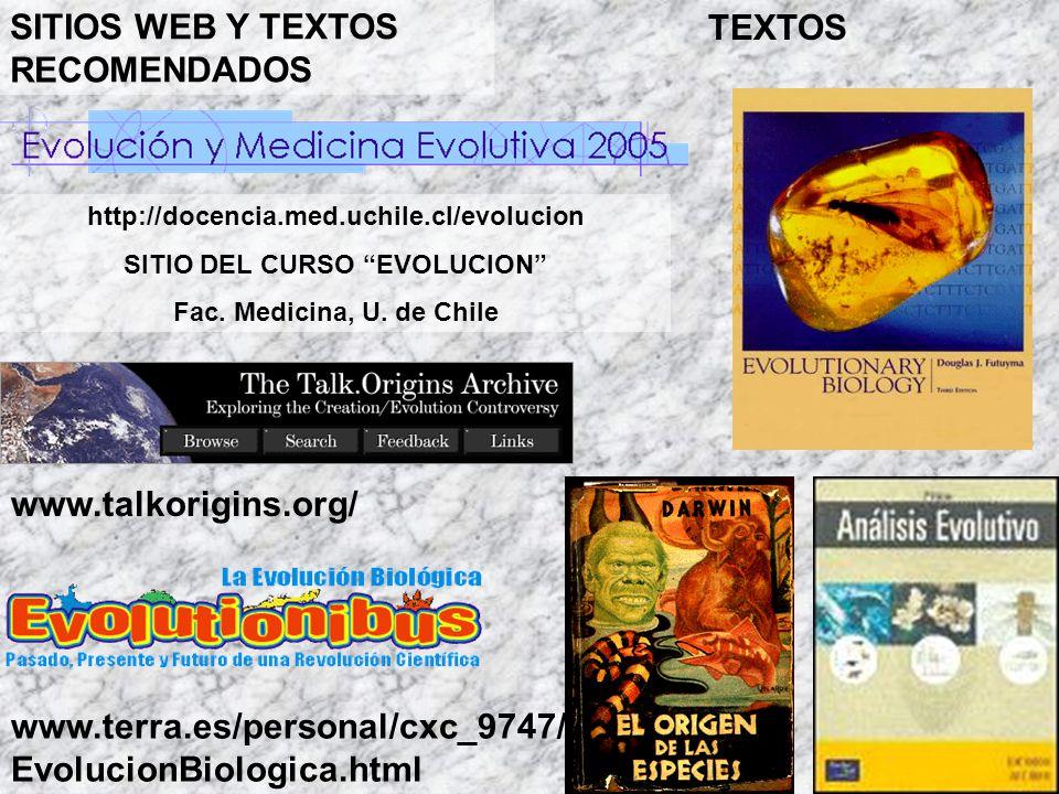 SITIO DEL CURSO EVOLUCION