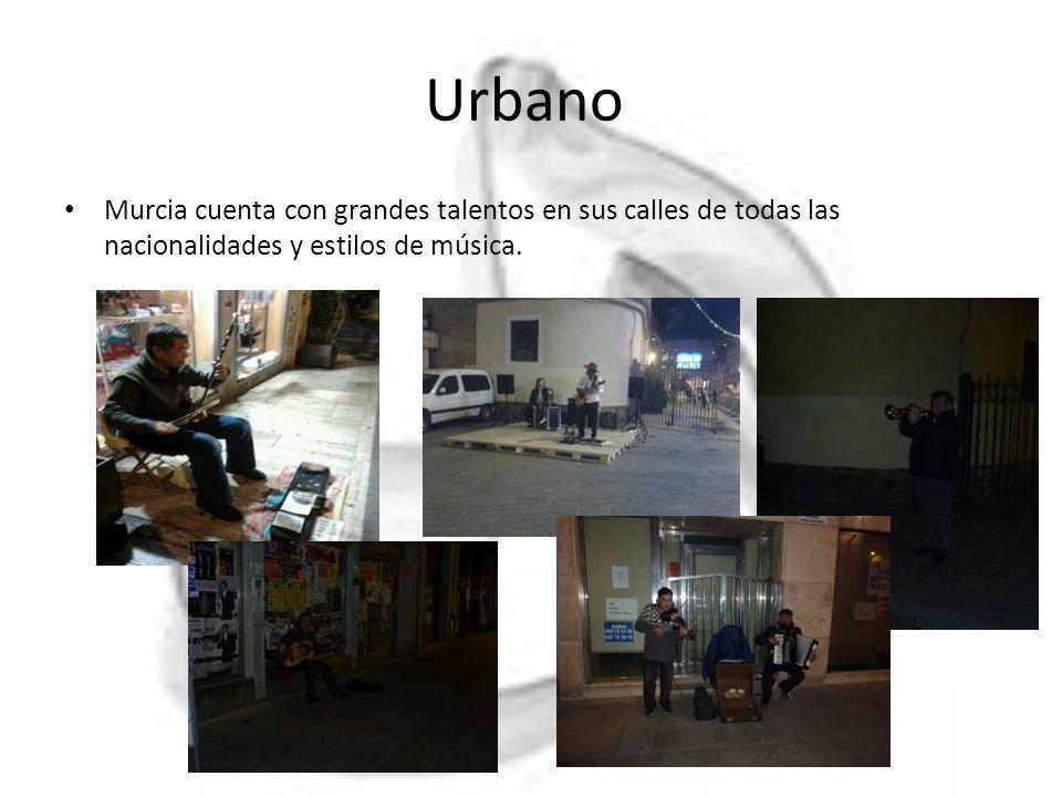 Urbano Murcia cuenta con grandes talentos en sus calles de todas las nacionalidades y estilos de música.