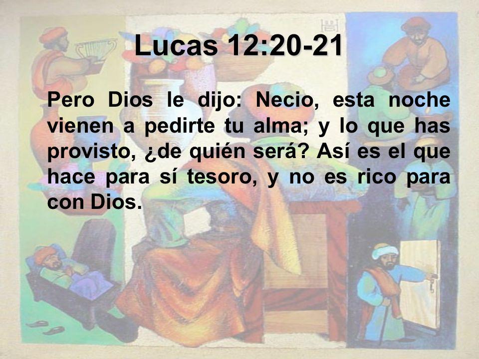 Lucas 12:20-21