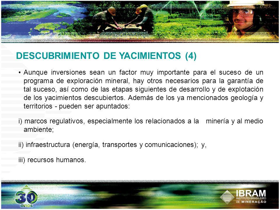 DESCUBRIMIENTO DE YACIMIENTOS (4)