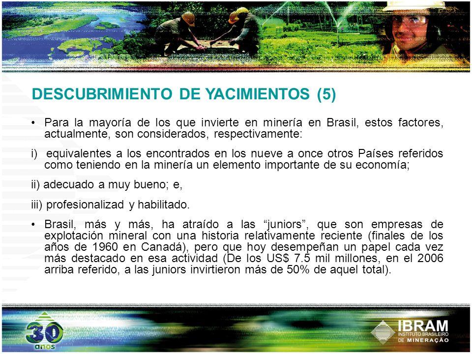DESCUBRIMIENTO DE YACIMIENTOS (5)