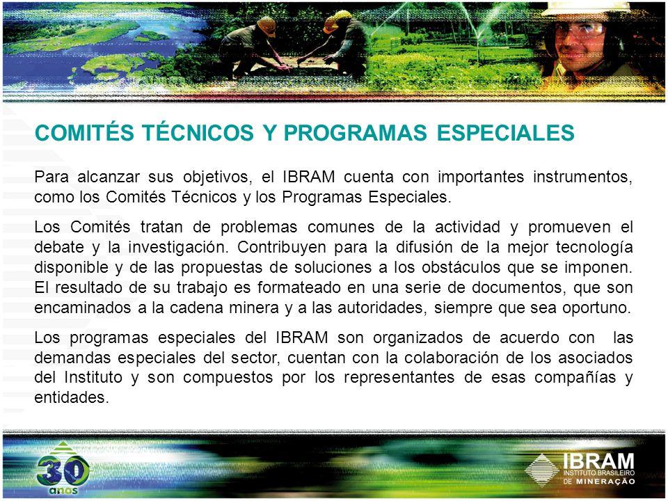 COMITÉS TÉCNICOS Y PROGRAMAS ESPECIALES