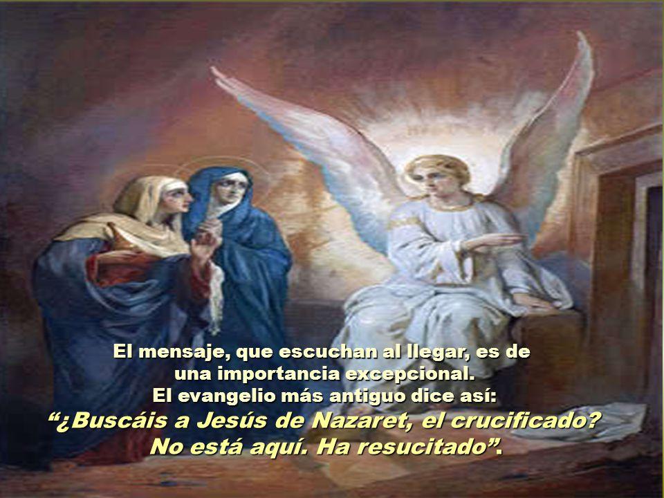 ¿Buscáis a Jesús de Nazaret, el crucificado