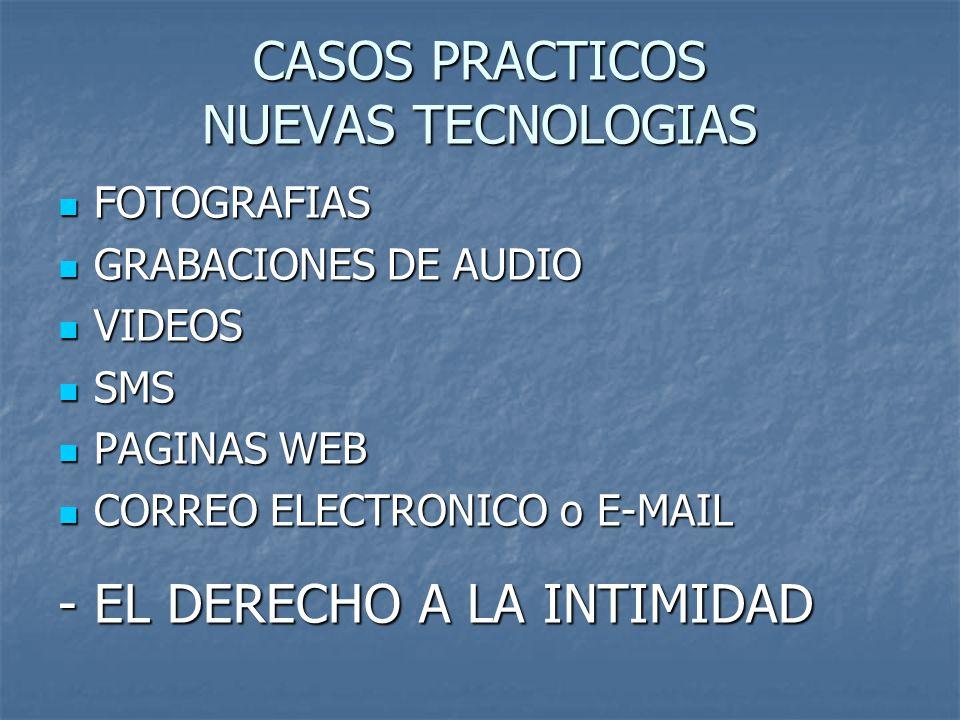 CASOS PRACTICOS NUEVAS TECNOLOGIAS