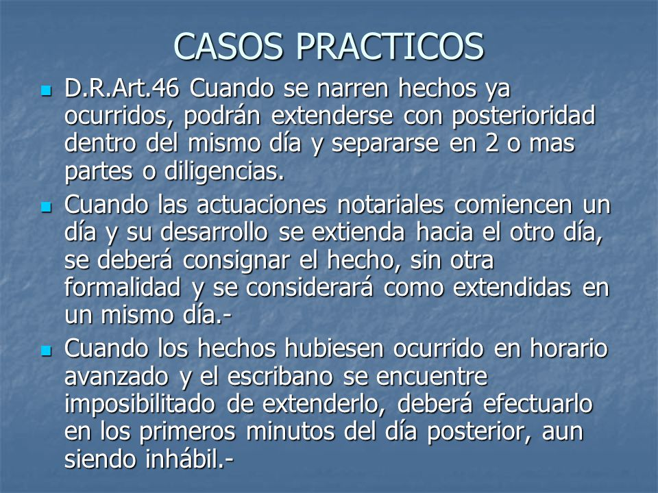CASOS PRACTICOS