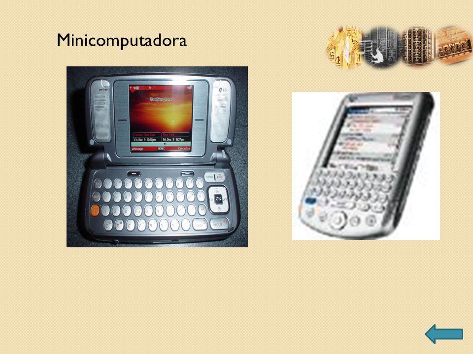 Minicomputadora
