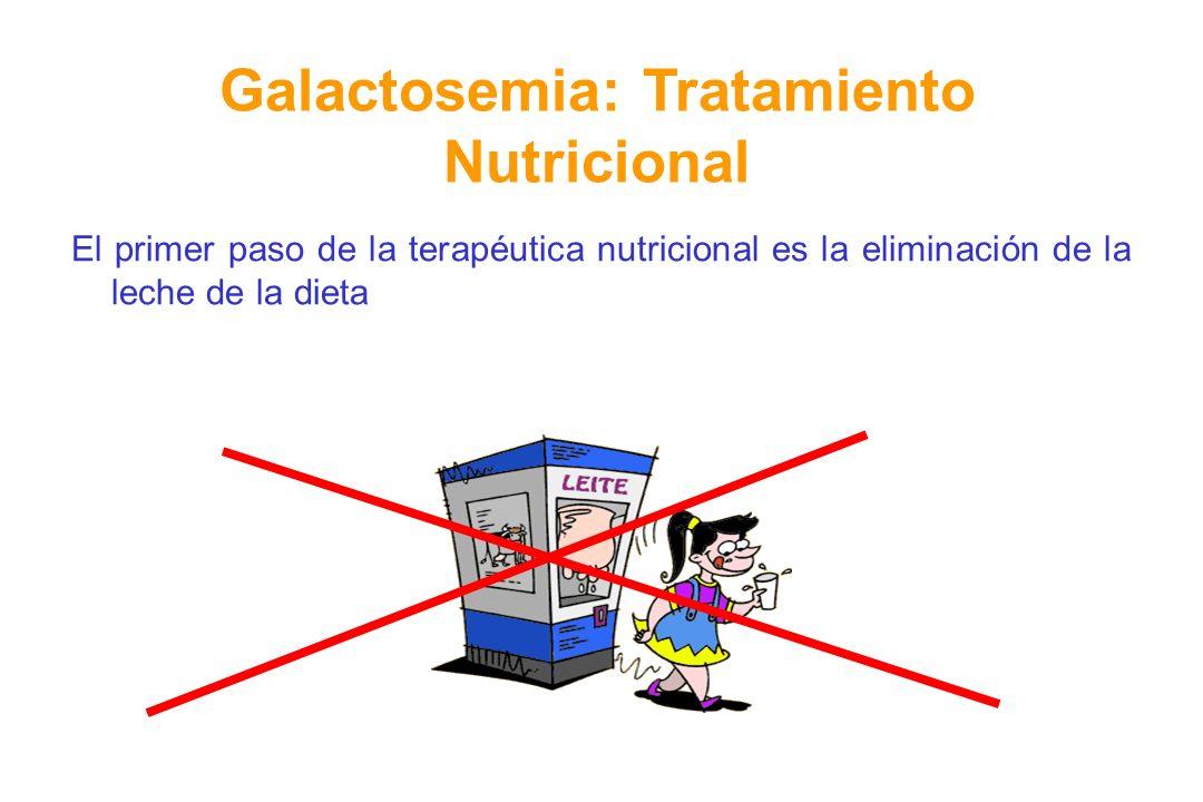 Galactosemia: Tratamiento Nutricional