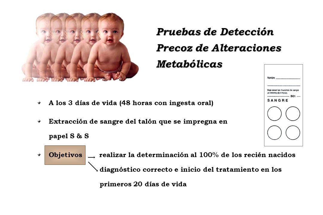 Precoz de Alteraciones Metabólicas