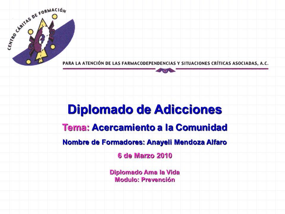 Diplomado de Adicciones