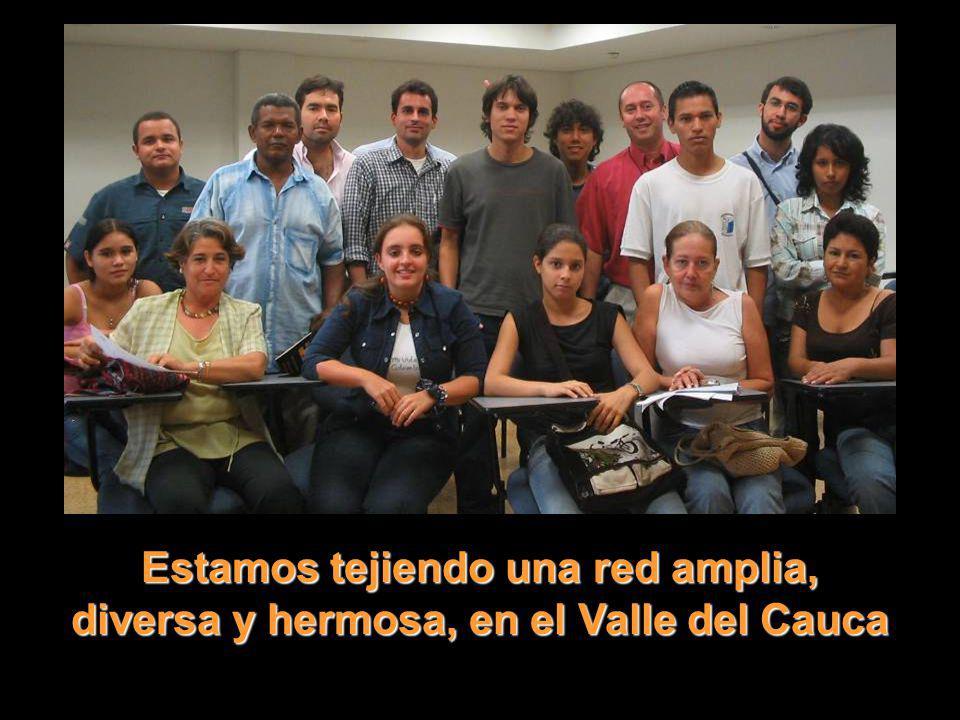 Estamos tejiendo una red amplia, diversa y hermosa, en el Valle del Cauca