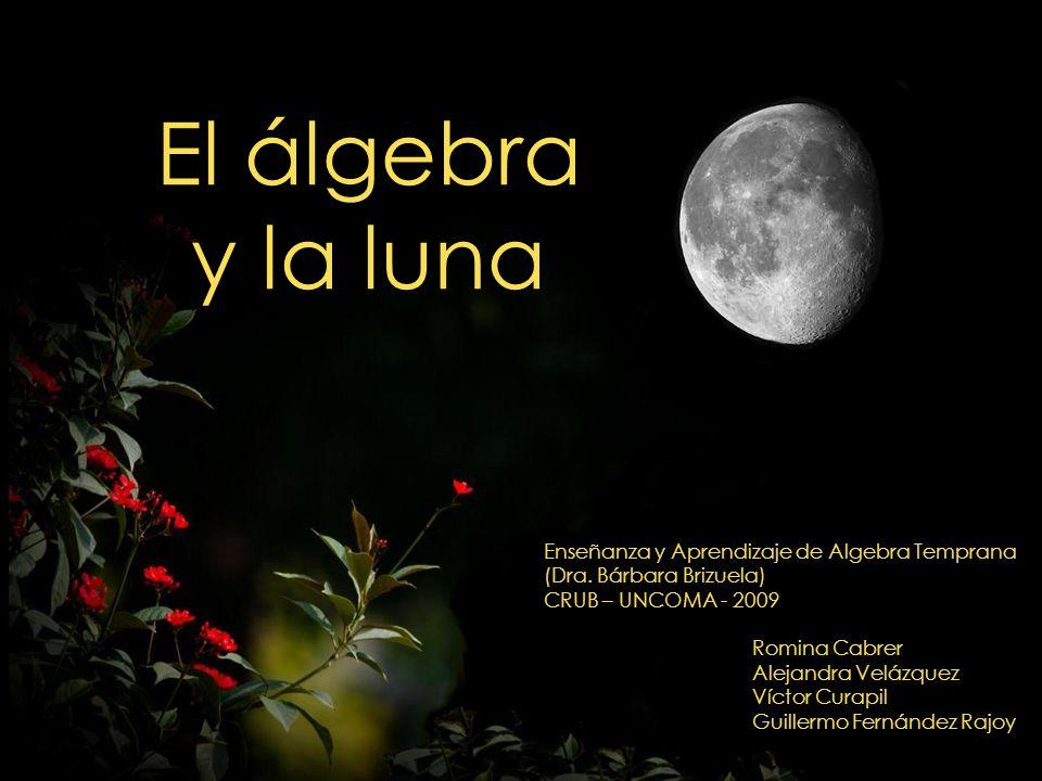 El álgebra y la luna Enseñanza y Aprendizaje de Algebra Temprana