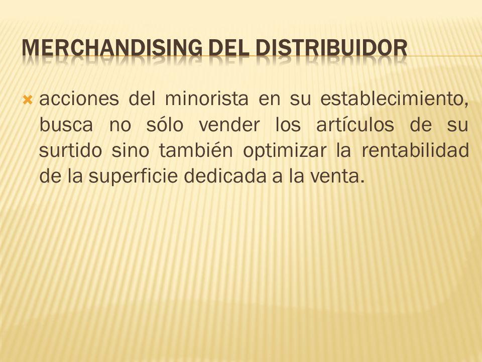 Merchandising del distribuidor