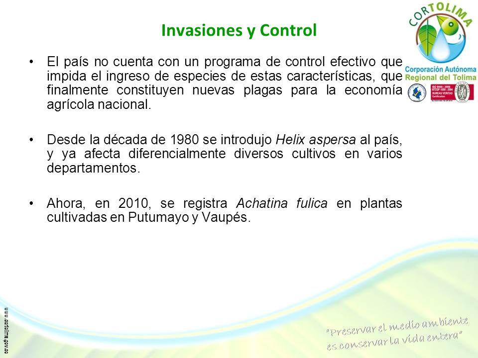 Invasiones y Control