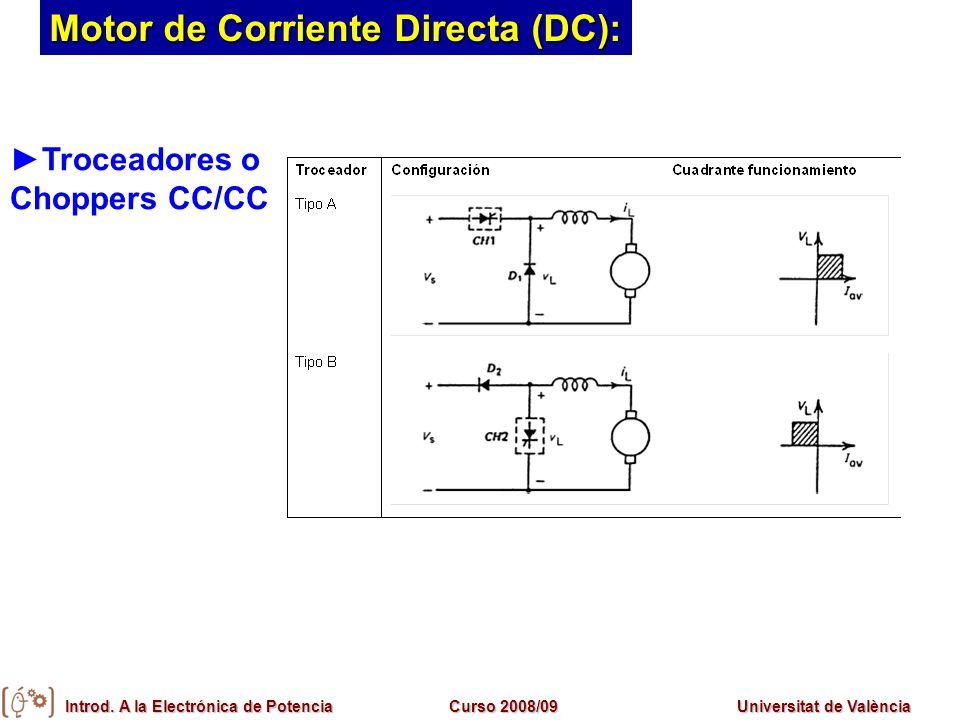 Motor de Corriente Directa (DC):