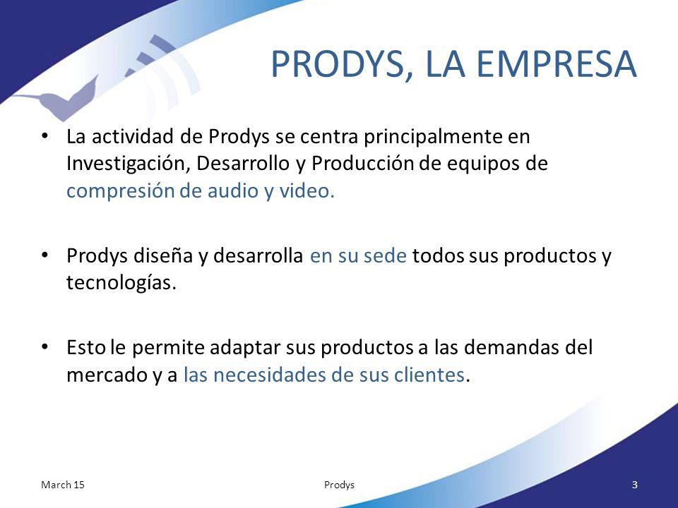 PRODYS, LA EMPRESA