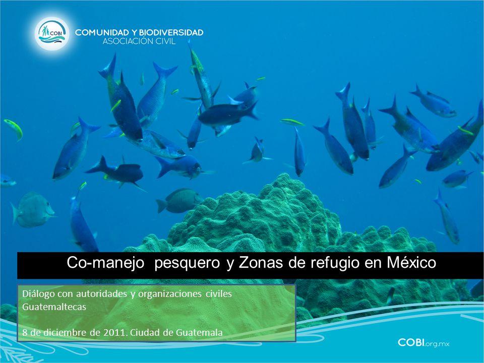 Co-manejo pesquero y Zonas de refugio en México