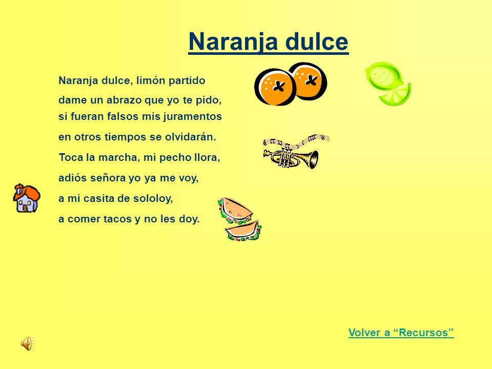 Naranja dulce Naranja dulce, limón partido