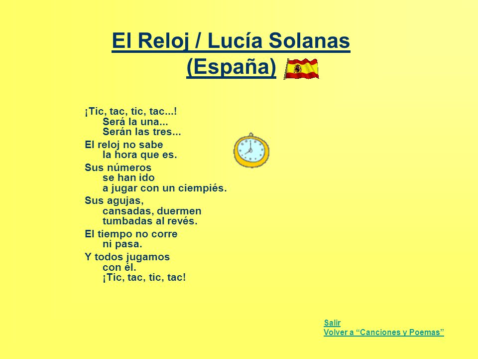 El Reloj / Lucía Solanas (España)