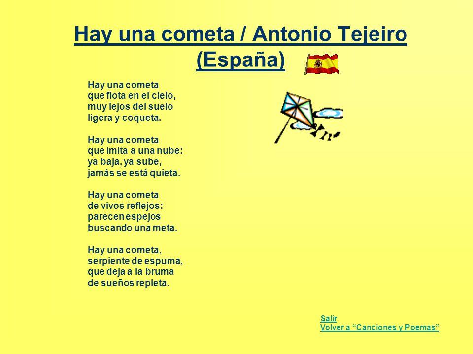 Hay una cometa / Antonio Tejeiro (España)