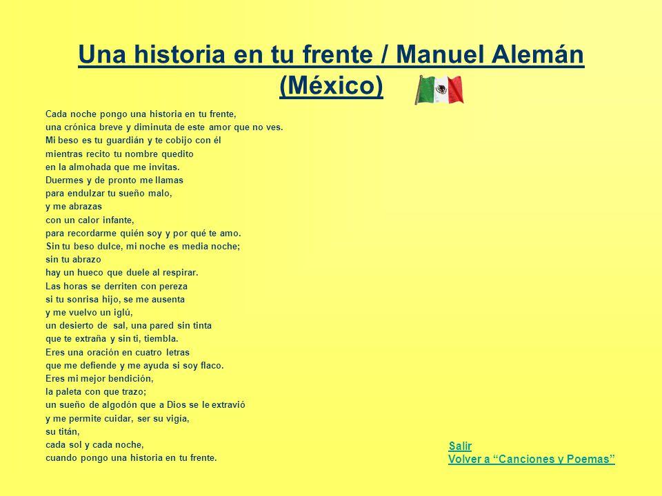 Una historia en tu frente / Manuel Alemán (México)