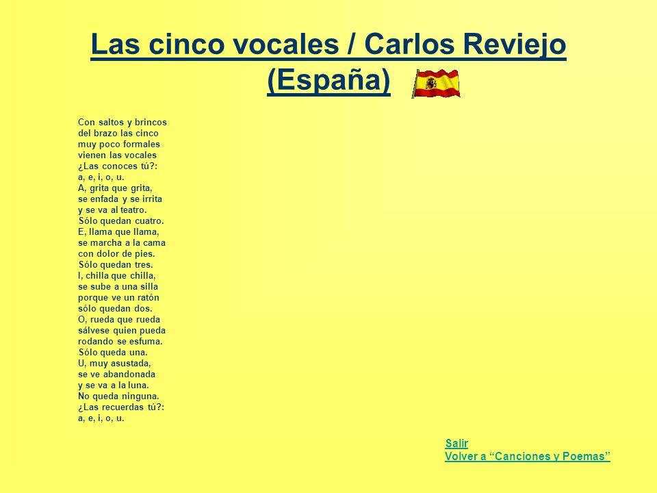 Las cinco vocales / Carlos Reviejo (España)