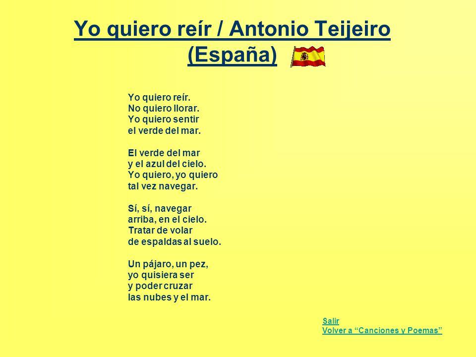 Yo quiero reír / Antonio Teijeiro (España)